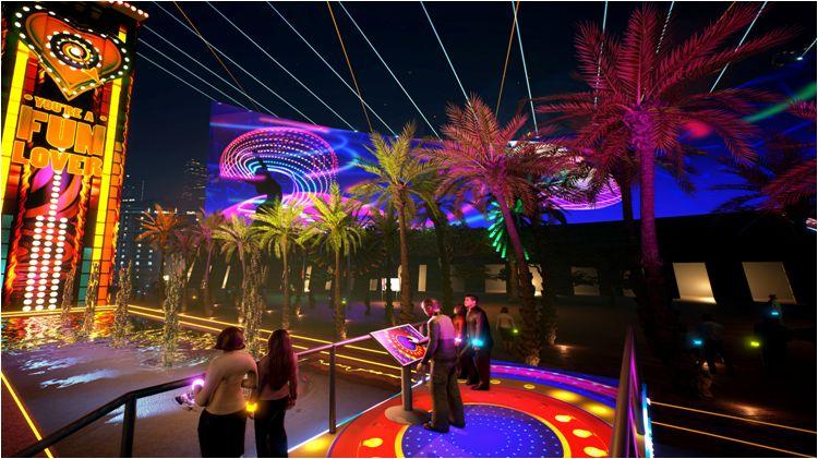 3D Light Show partnernet news: hong kong pulse 3d light show