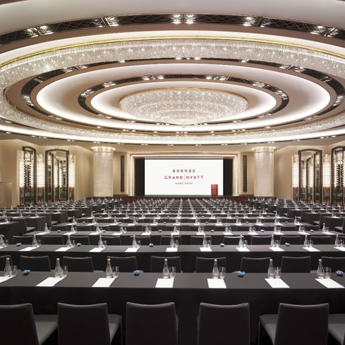 Grand Ballroom - Classroom Set Up