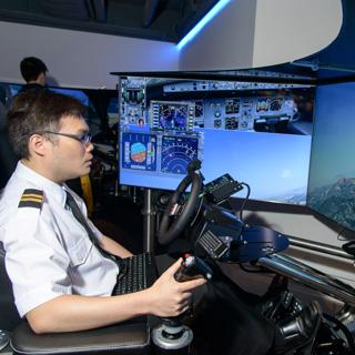 Flight Simulator by Jetone Motion PartnerNet
